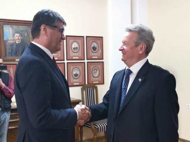 Амбасадор Словеније у Нишу
