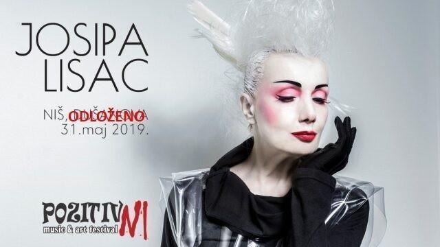 "Nastup Josipe Lisac na festivalu ""PozitivNI"" odložen zbog bolesti"