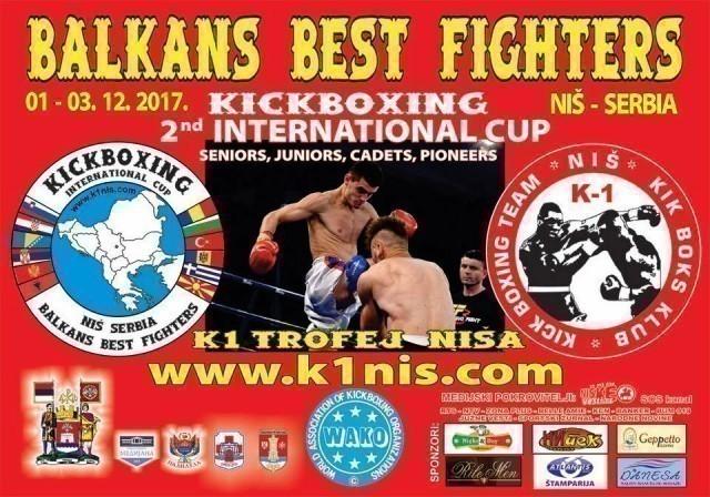 Најбољи кик-боксери Балкана од 1. до 3. децембра у Нишу