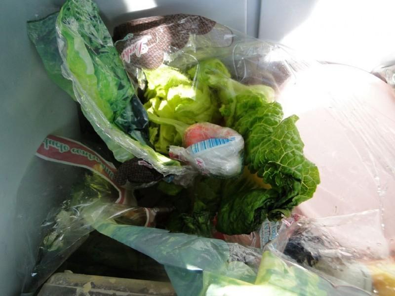Kokain sakriven u glavici zelene salate