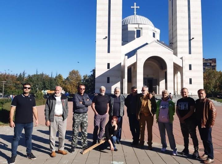 Završena trodnevna likovna kolonija u Svetosavskom parku