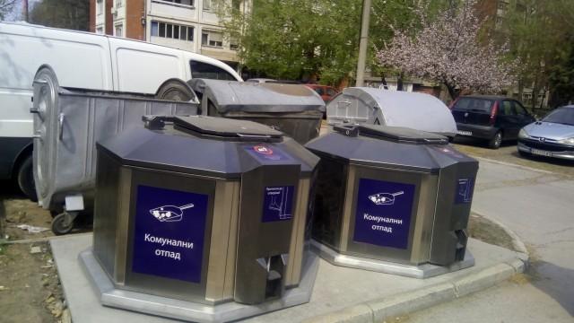 Нови подземни контејнери у склопу комуналног опремања на територији Градске општине Медијана