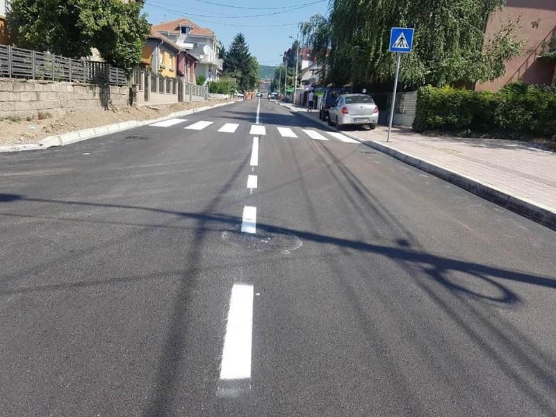 Obnovljena Ulica Kosovke devojke spremna za saobraćaj i vašar na Panteleju