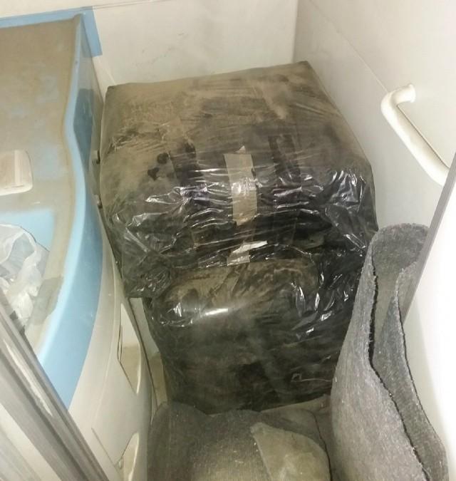 Око 40 килограма дувана сакривено у тоалету аутобуса