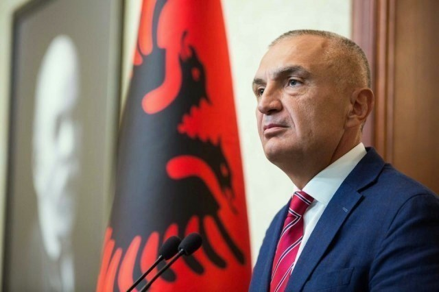 Ilir Meta; Photo: Albanian Parliament