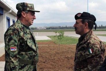 Diković i komandant KFOR o saradnji