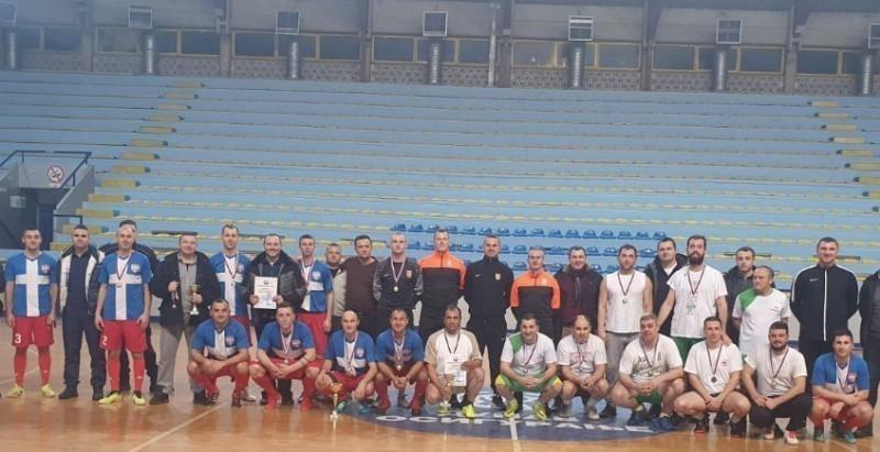 Екипа Восјке Србије победник  турнира у малом фубалу, полиција на другом месту