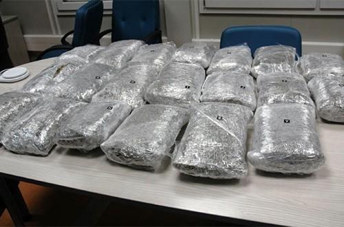 Македонац ухапшен са 30 килограма марихуане