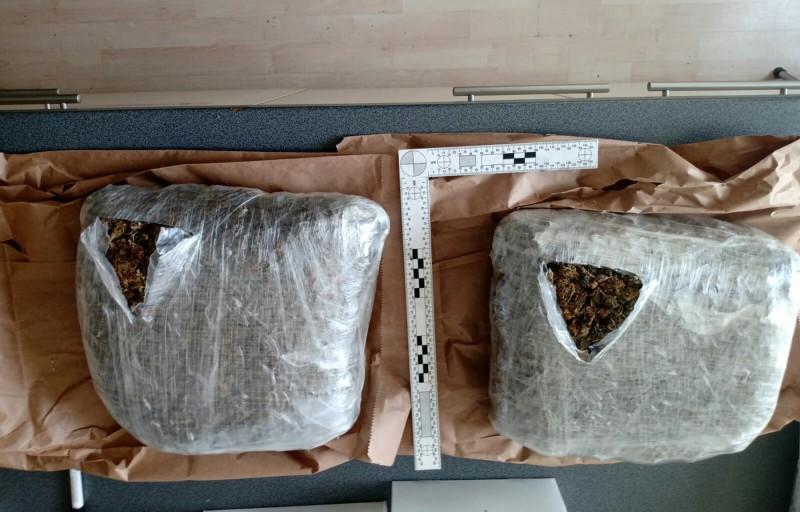 Младић (21) из Ниша диловао, заплењено два килограма марихуане