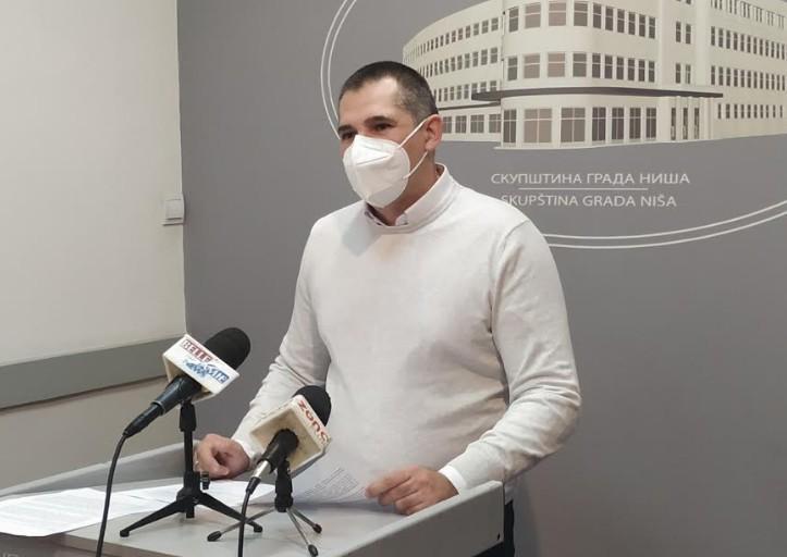 Niški opozicioni odbornik predao 33 amandmana na Predlog budžeta