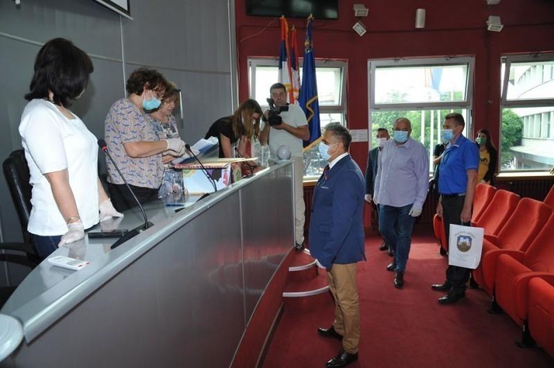 U Nišu proglašena izborna lista - Ujedinjena seljačka stranka - Milija Miletić