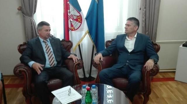 Miloš Banđur primio delegaciju Univerziteta iz Sankt Peterburga