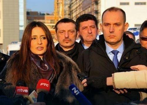 Министри Кубуровић и Лончар у нишкој Хитној помоћи  Фото: К. Каменов