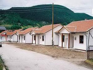 Изградња 15 монтажних кућа у Врању