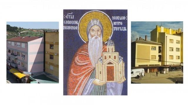 Осликавање мурала у центру града поводом 850. годишњице изградње првих Немањиних задужбина у Куршумлији