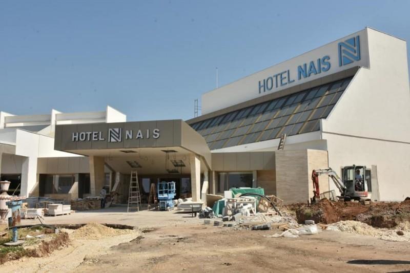 """Čuveni hotel """"Nais"""" počinje sa radom početkom avgusta, gradonačelnik obećao 150 radnih mesta"""