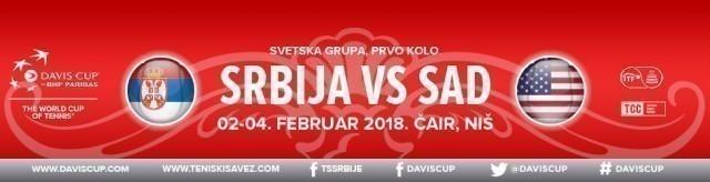 Србија–Америка у Нишу без Ђоковића