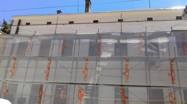 Rekonstrukcija fasada javnih zgrada u Nišu