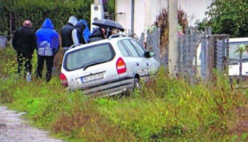 Увиђај: Аутомобил после удеса слетео у јарак
