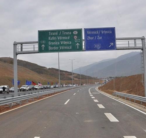 Srbija i Albanija zajednički grade autoput Niš-Tirana