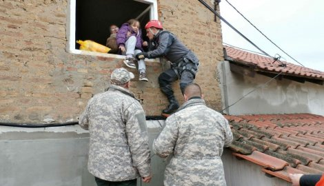 Ribočuvari spasili 600 ljudi u Obrenovcu