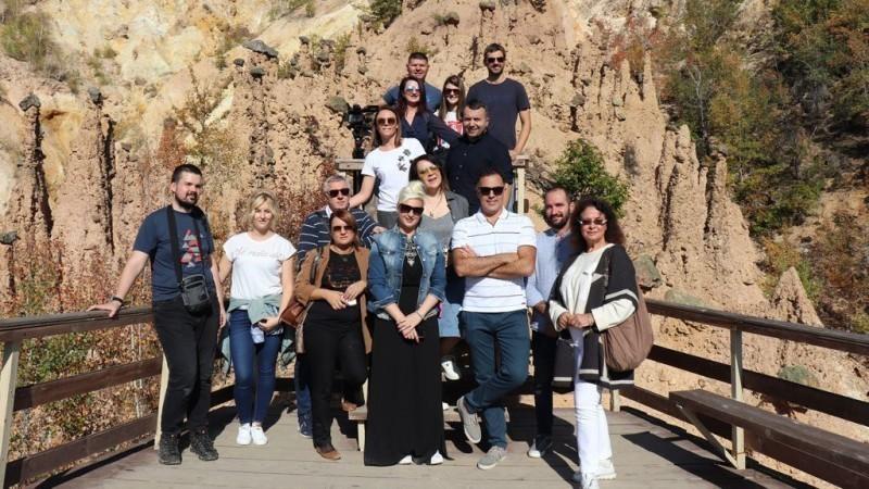 """Након титуле """"Изузетна дестинација""""  Куршумлија угостила делегацију ТОС-а и тим новинара"""