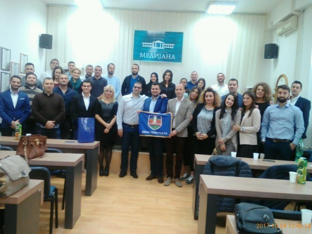 Mladi Novopazarci u poseti Medijani