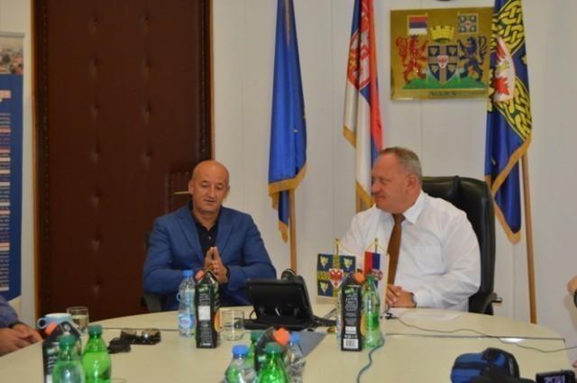 Градоначелник Охрида посетио Роштиљијаду у Лесковцу