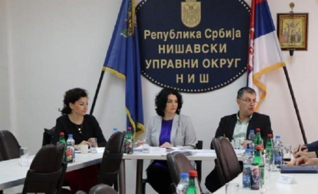 Седница Окружног штаба: Ситуација на критичним тачкама и водотоковима у Нишавском округу се прати 24 сата