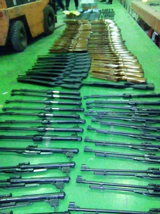 Заплењен велики товар оружја на Градини (ФОТО)