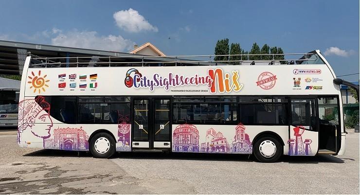 Nakon Beograda i Niš dobio otvoreni turistički autobus - prva tura 15. jula