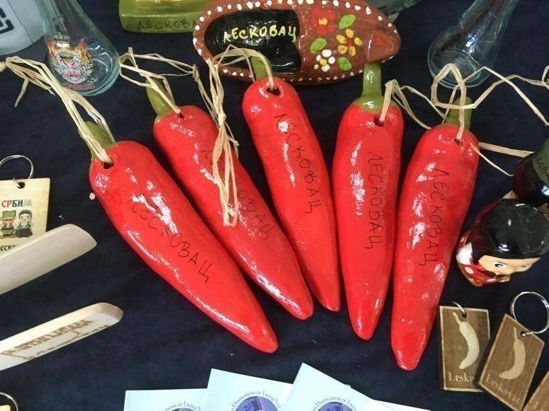 Ljute papričice kao suvenir