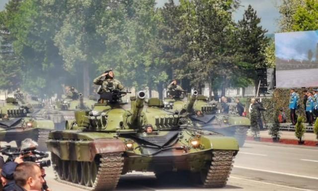 """""""Одбрана слободе"""" – спектакл снага безбедности у Нишу"""
