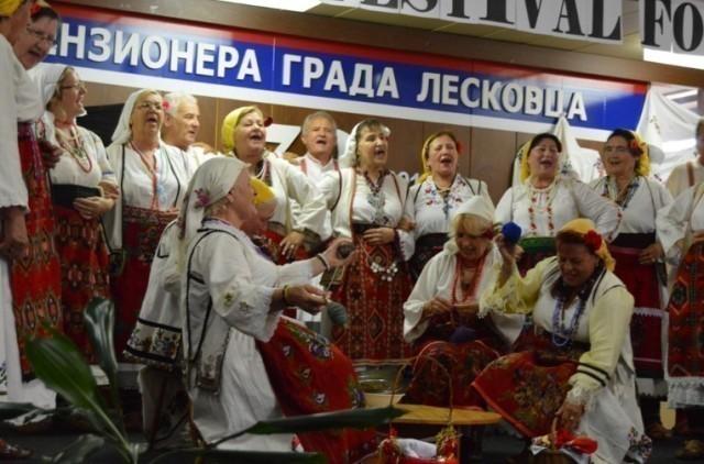10. Međunarodni festival trećeg doba u Leskovcu