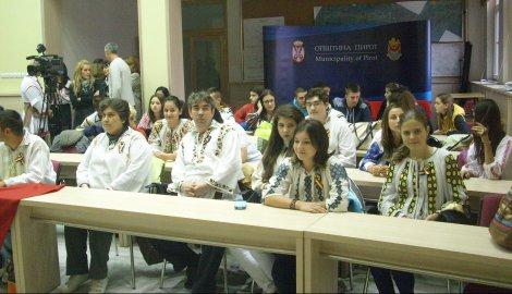 Ученици и професори из Русије, Румуније и Македоније у Пироту