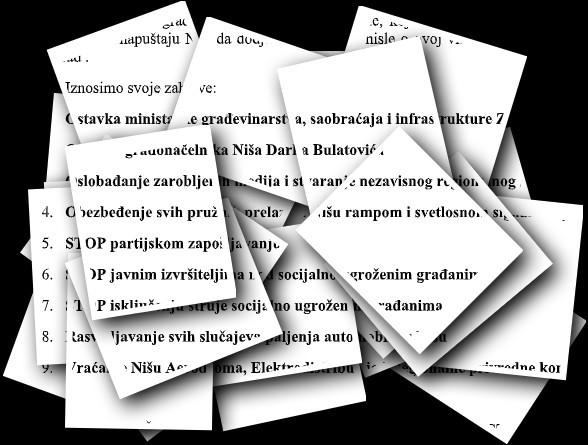 """Којим фарбама ће сутра бити исликан """"грађански"""" протест у Нишу: ДЈБ позива политичаре да """"не перу своје биографије"""""""
