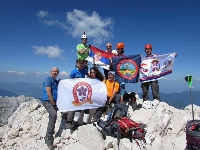 Планинари освојили Јулијске Алпе