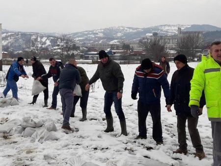 Stagnacija vodostaja na reci Toplici i uspostavaljanje redovnog vodosnabdevanja