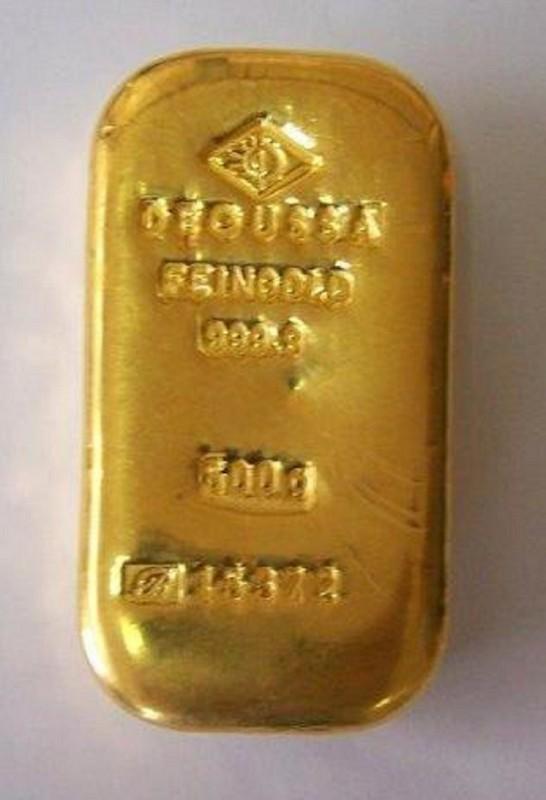 Zlatna poluga od pola kilograma i neprijavljene devize