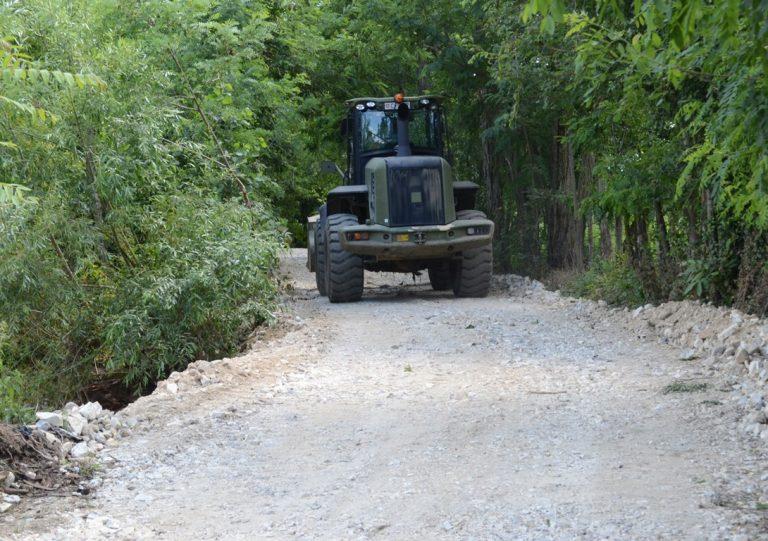 Vojska Srbije i Grad Prokuplje rade na saniranju šteta od poplava