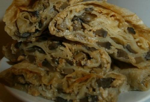 Stari recepti iz Niša: Posna pita sa pečurkama