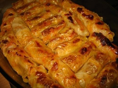 Стари рецепти из Ниша : Посна сармица од слатког купуса