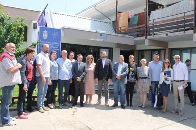 Delegacija EU obišla Prihvatni centar u Vranju