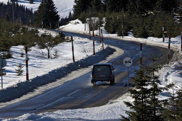 Стижу ледени дани, апел возачима на југу Србије