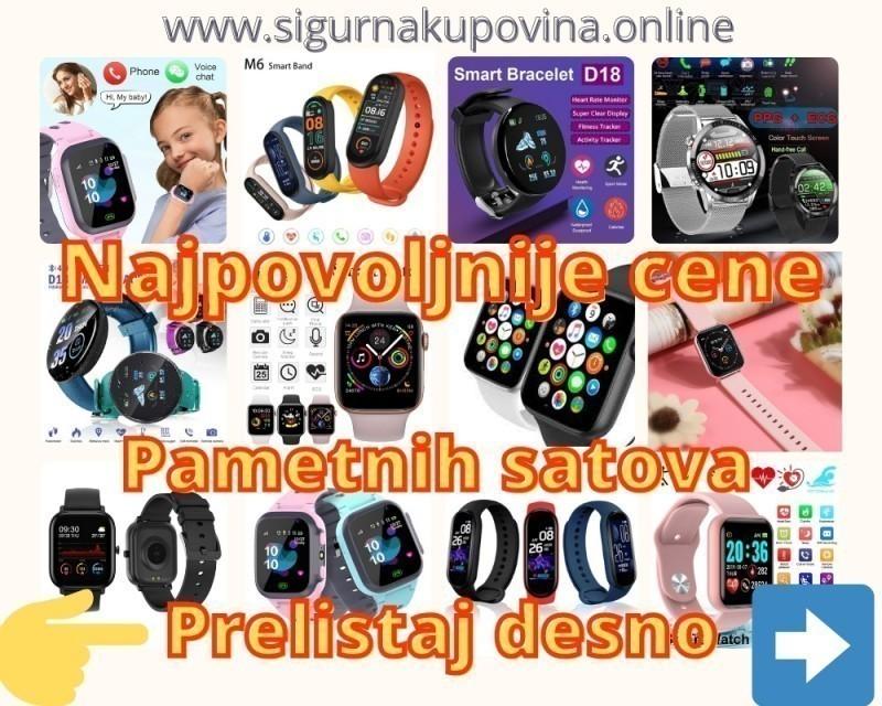 Pametni Sat-Sat za Decu sa lokacijom-SIM Sat-Smart Watch
