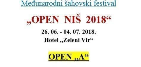 """""""OPEN  NIŠ  2018"""""""
