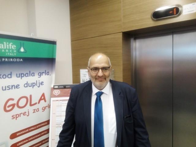 Проф. др Саша Живић, Фото: Јужна Србија