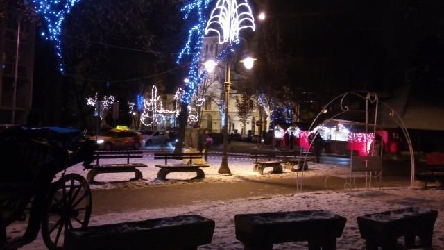 Божићно и новогодишње сеоце у Нишу