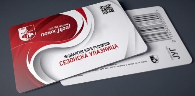ФК Раднички: Продаја сезонских улазница