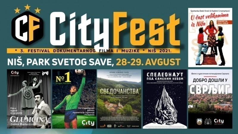 """И ове године филмови под ведрим небом: Трећи Фестивал документарног филма и музике """"Сити фест"""" у Светосавском парку"""
